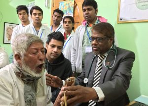 Testing SpiroSmart in clinics in India and Bangladesh.