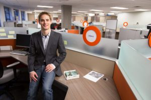 Alumnus Ben Waters is Co-Founder and CEO of WiBotic.