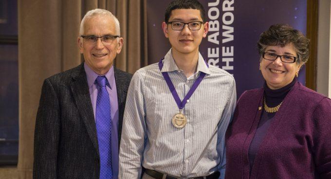 Undergraduate Student Evan Wang Receives UW High Scholarship Banner