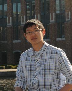 UW EE senior, Evan Wang