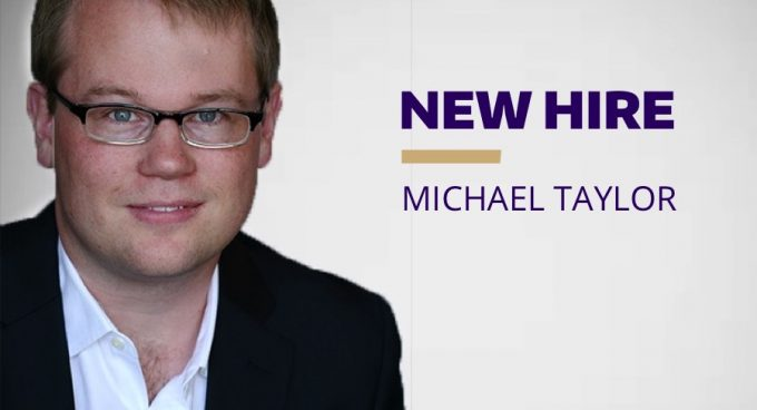 New Hire, Michael Taylor, Brings Expertise in Computer Engineering Research Banner