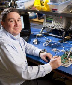 Professor Matt Reynolds Works with Intellectual Ventures to Power Drones Wirelessly
