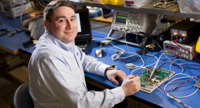Professor Matt Reynolds Works with Intellectual Ventures to Power Drones Wirelessly Banner