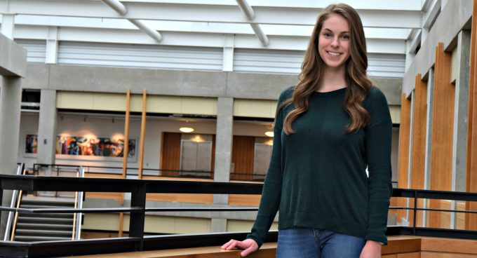 Undergraduate Student, Megan Swanson, Admitted to SUPERB-ITS Program Banner