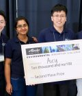 Graduate and Undergraduate Students Receive Second Place at EIC Competition for Environmental Innovation Thumbnail