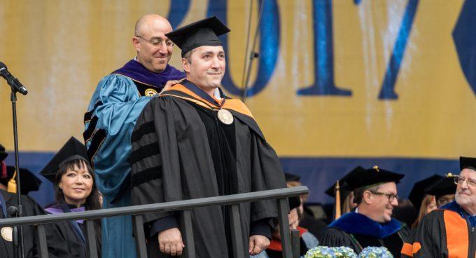 Dr. Babak Parviz receives U-M Bicentennial Alumni Award Banner
