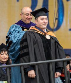 Dr. Babak Parviz receives U-M Bicentennial Alumni Award