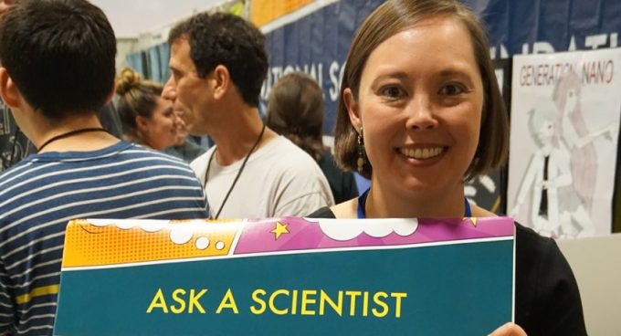 Graduate student Katherine Pratt featured at Smithsonian's Future Con Banner
