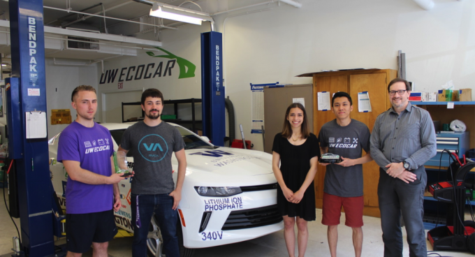 EcoCar receives first place for NSF Innovation Award Banner