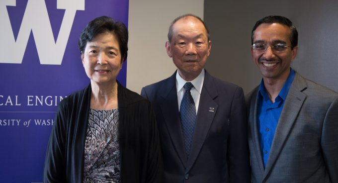 Professor Rao named Cherng Jia and Elizabeth Yun Hwang Endowed Professor Banner