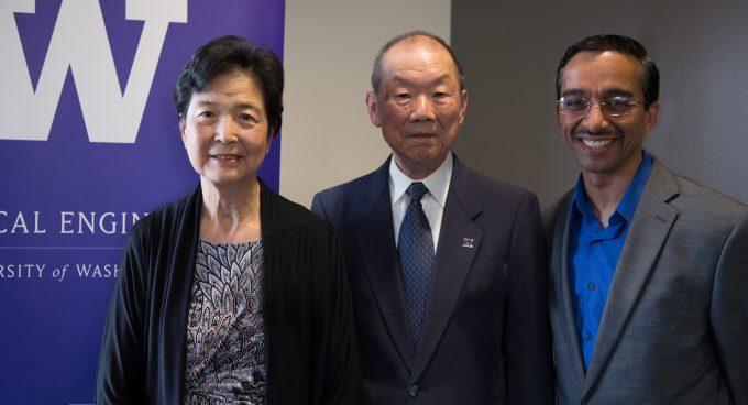Professor Rao named Cherng Jia and Elizabeth Yun Hwang Endowed Professor Banner