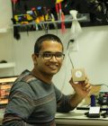 Graduate student Rahil Jain featured in Lab on a Chip journal Thumbnail