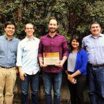 Graduate student team wins best poster award at IEEE conference
