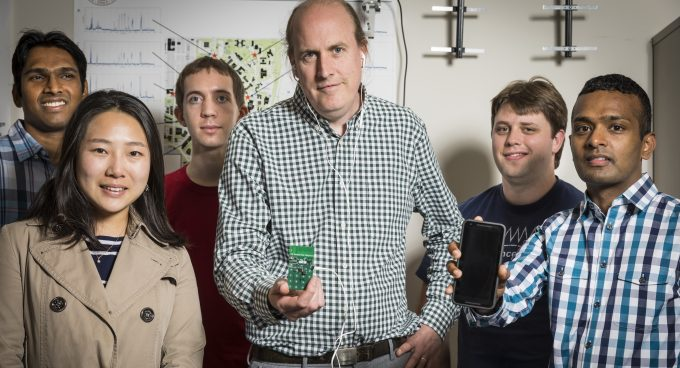UW researchers develop world's first battery-free phone Banner