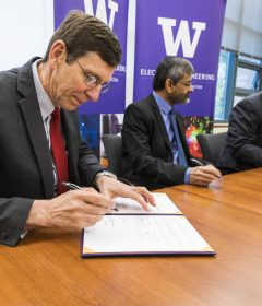 An MoU between IITH and the UW build a partnership on cyber physical systems, smart cities