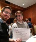 Two UW EE graduate students receive best paper award from top research conference Thumbnail