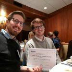 Two UW EE graduate students receive best paper award from leading IEEE signal/audio workshop