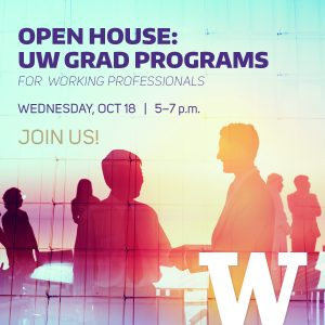 PC&E Open House: UW Grad Programs