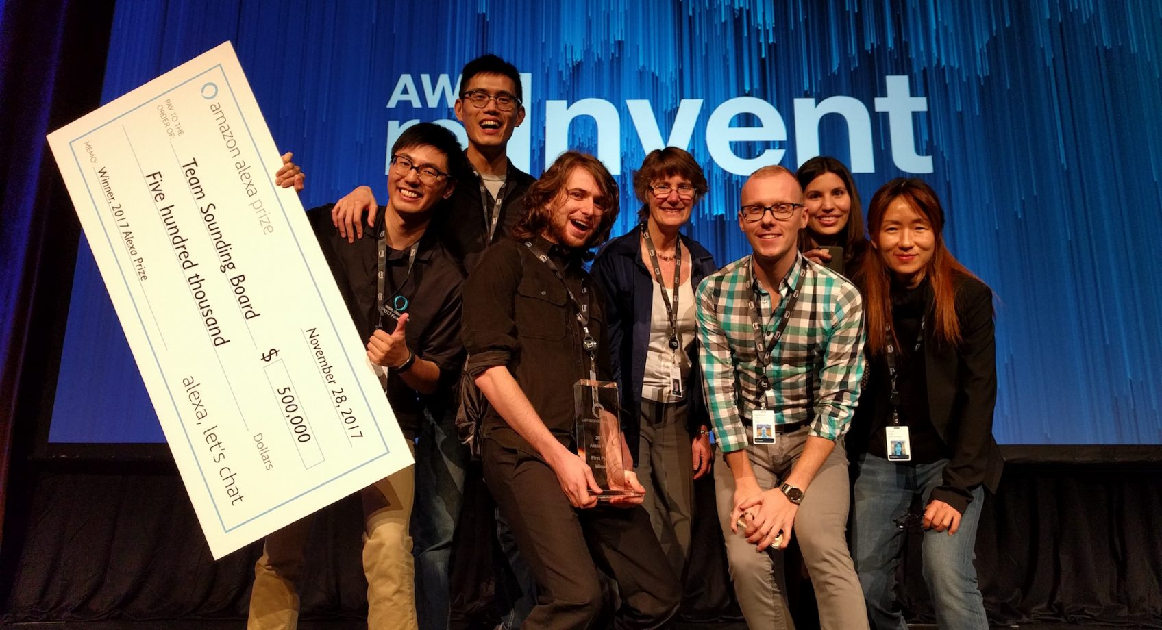 UW Team wins international Amazon Alexa Prize for the design of conversational AI Banner