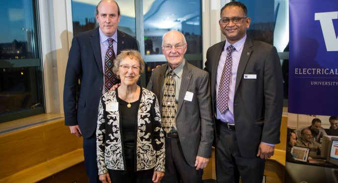 Dr. Joshua Smith becomes Milton and Delia Zeutschel Professor for Entrepreneurial Excellence Banner