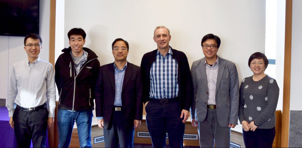 Photo of UW and Tsinghua faculty.