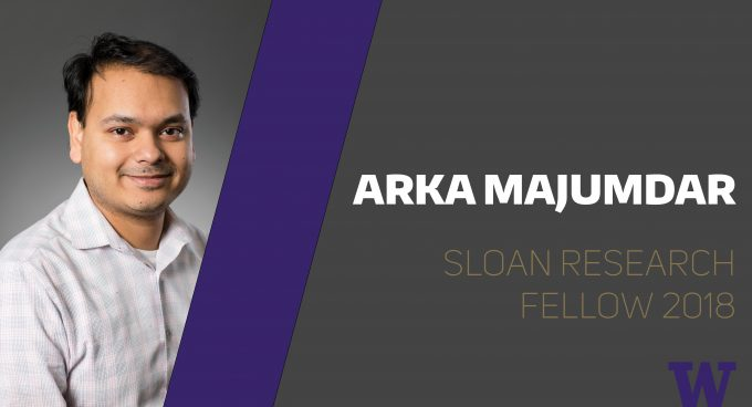 Assistant Professor Arka Majumdar awarded Sloan Fellowship for early-career research Banner
