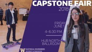 Capstone Fair 2018 -- event banner.