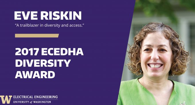 Eve Riskin honored by ECEDHA with Diversity Award Banner