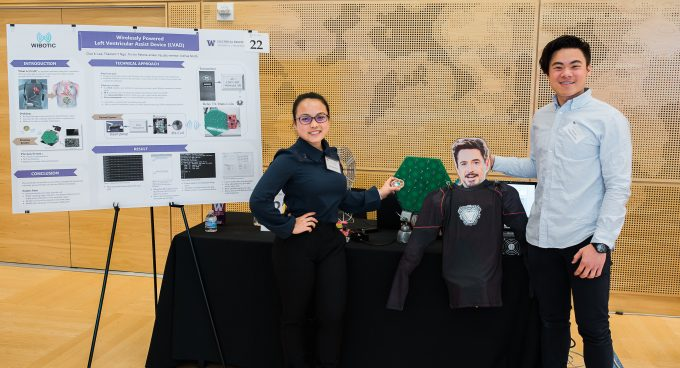 2018 UW Electrical Engineering Capstone Fair Banner