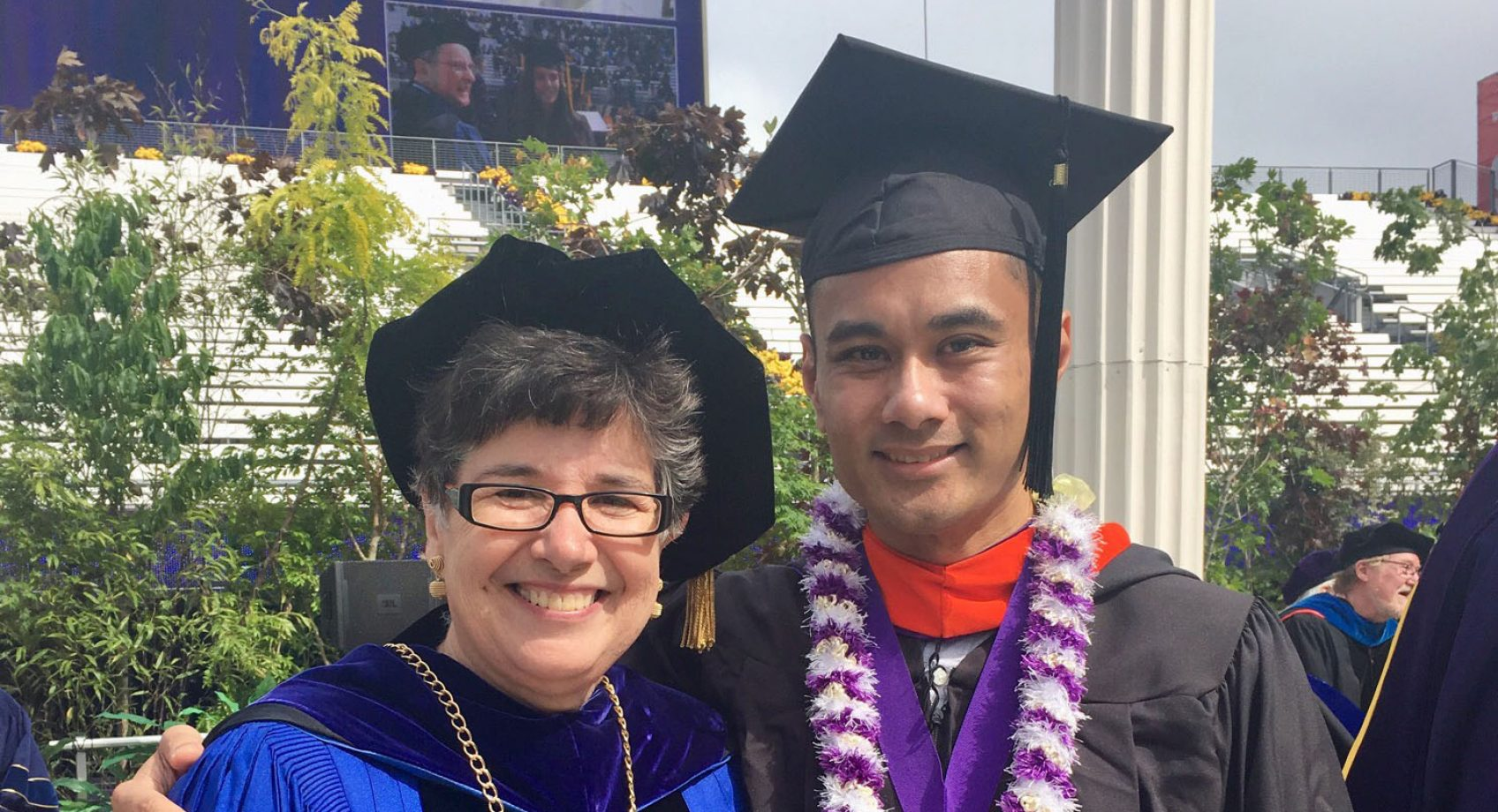 Alcantara honored with UW Excellence in Teaching Award Banner