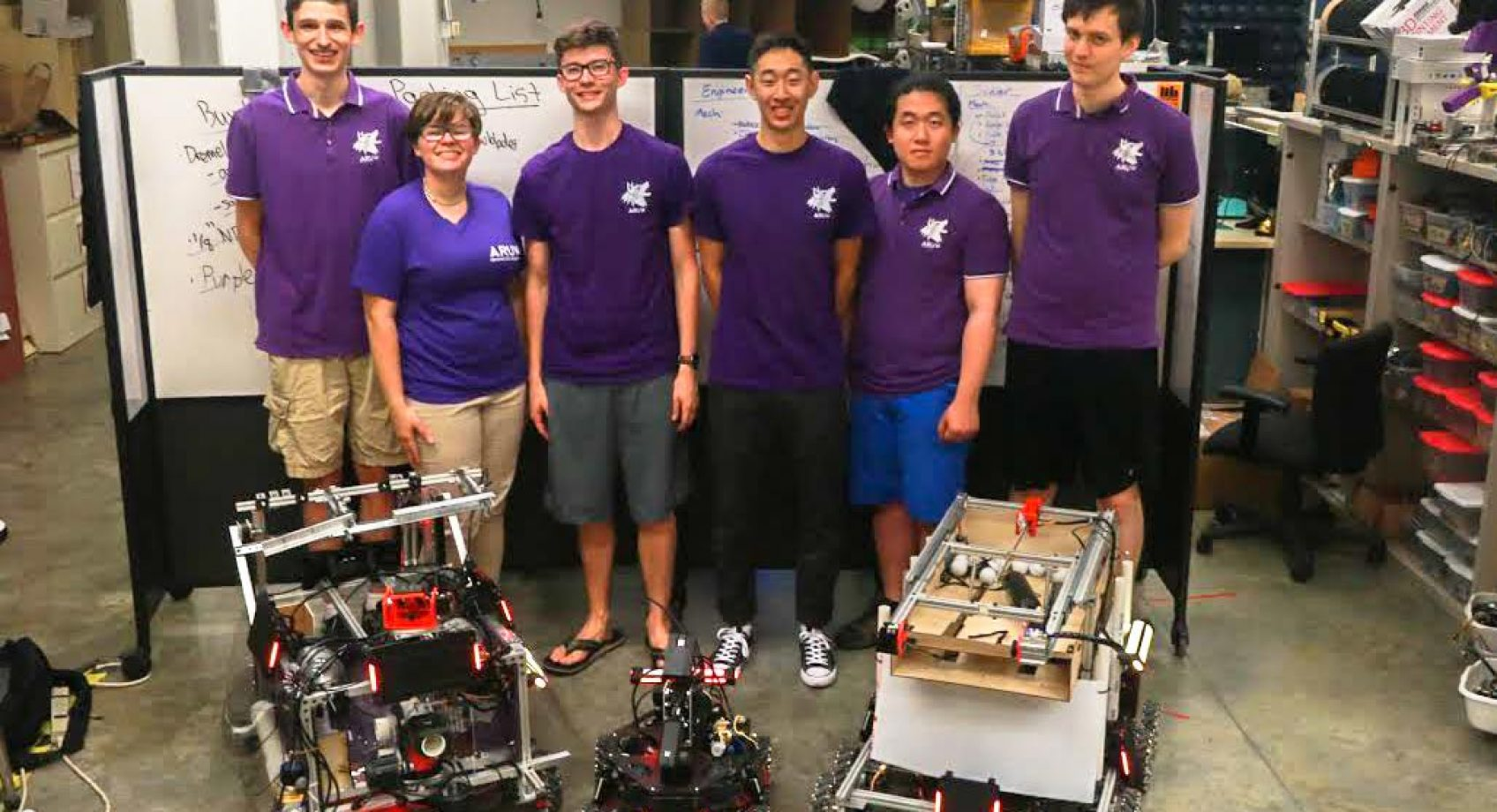 Robotics team heads to China to participate in challenge Banner
