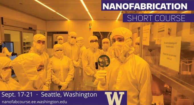 Nanofabrication Intensive Short Course Banner
