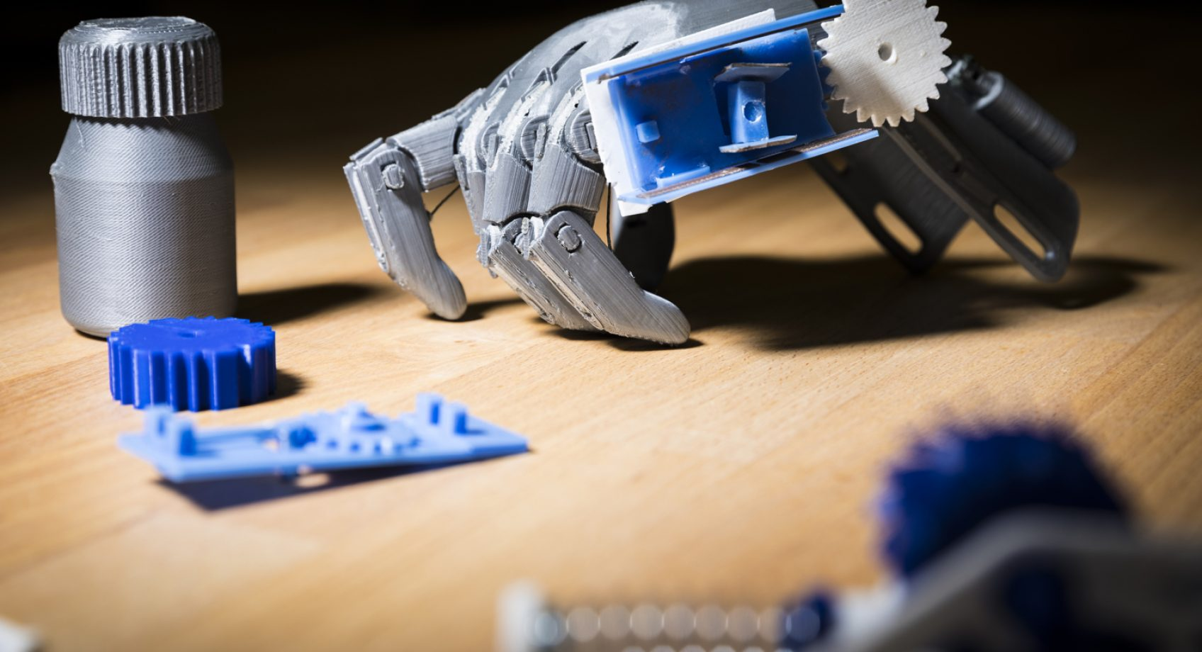 Researchers develop 3-D printed objects that can track and store how they are used Banner
