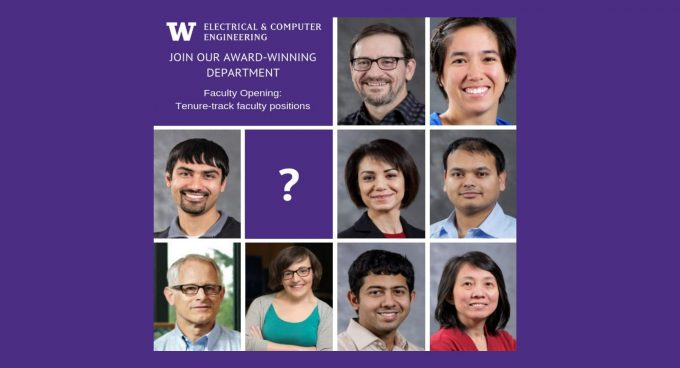 We are hiring multiple full-time, tenure-track positions Banner
