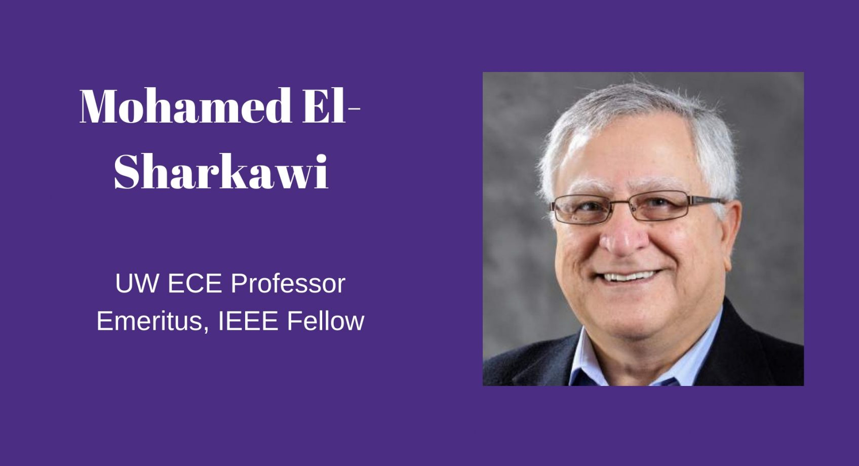 Remembering Professor Mohamed El-Sharkawi Banner