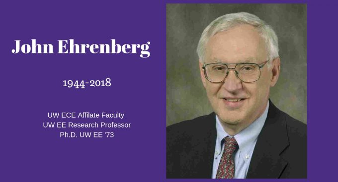 ECE community grieves loss of friend, faculty and alum, John Ehrenberg Banner