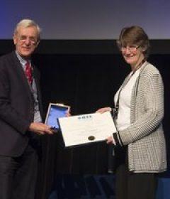 Ostendorf wins 2018 Flanagan award