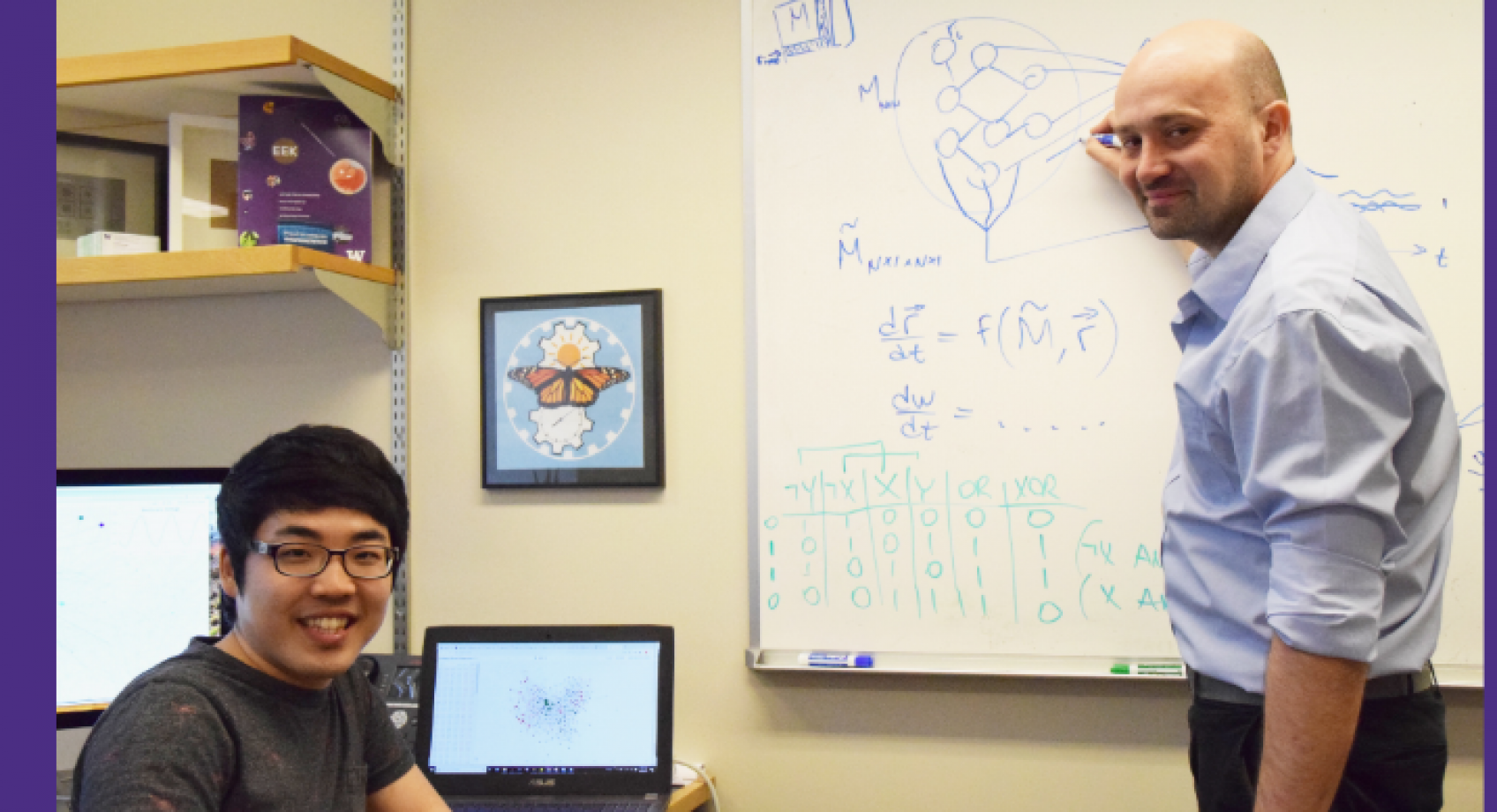 UW researchers create an interactive simulation of a nervous system Banner