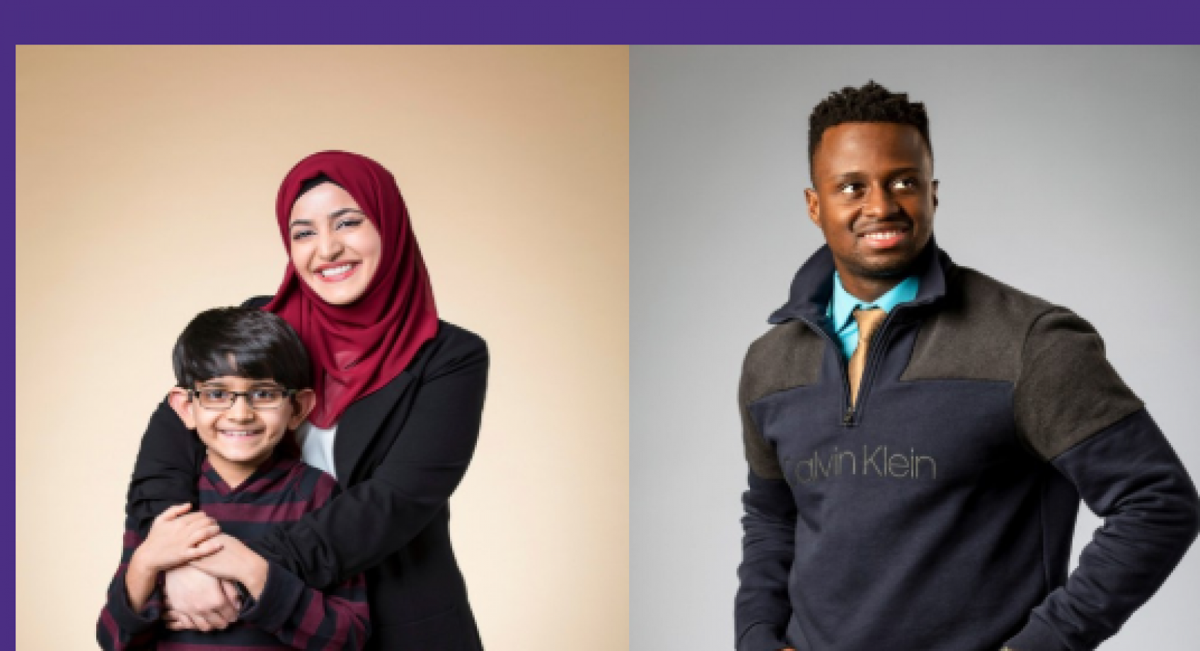 Two ECE students selected for the Husky 100 Banner