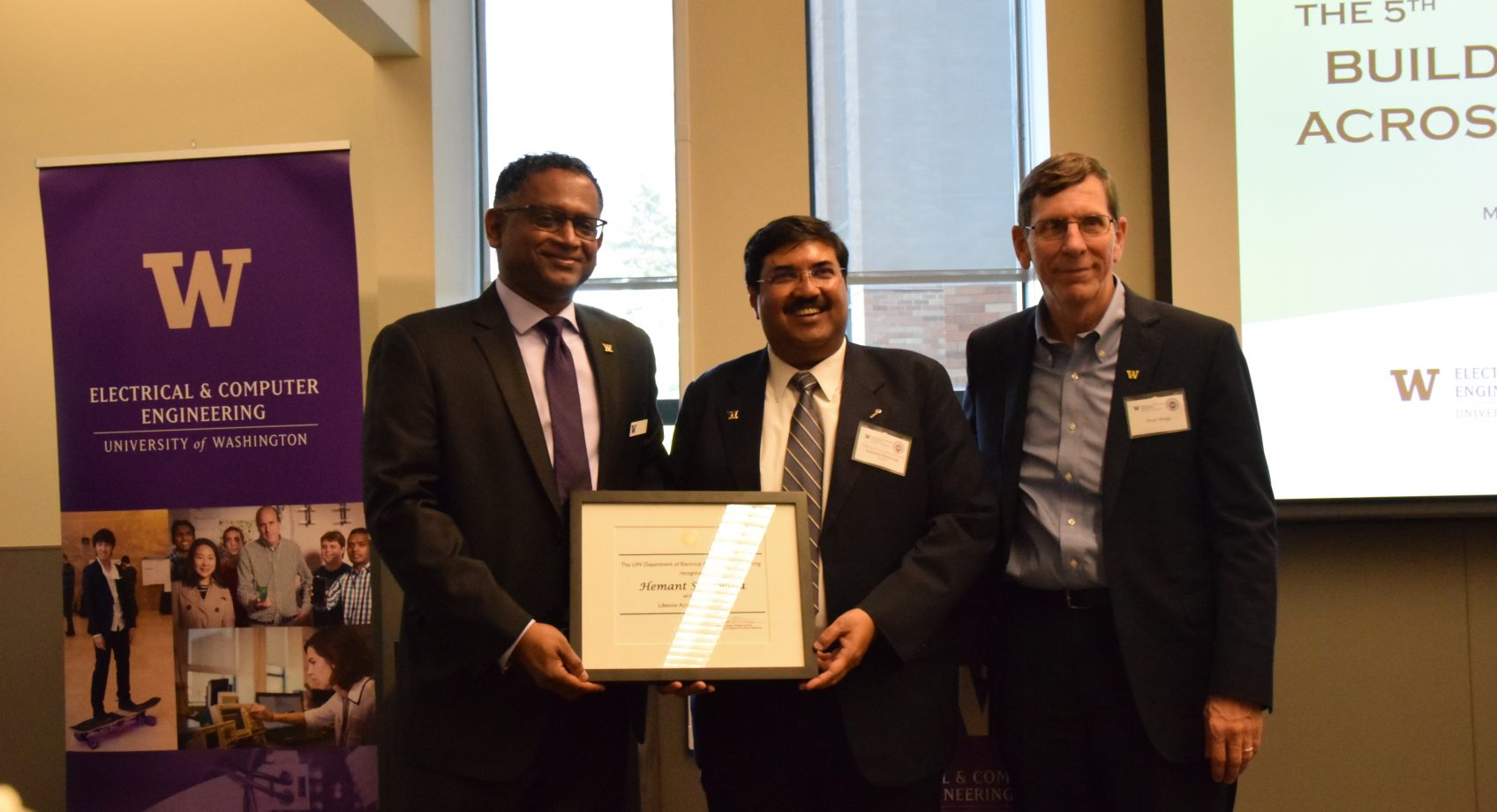 ECE alum Hemant Sonawala honored with lifetime achievement award Banner