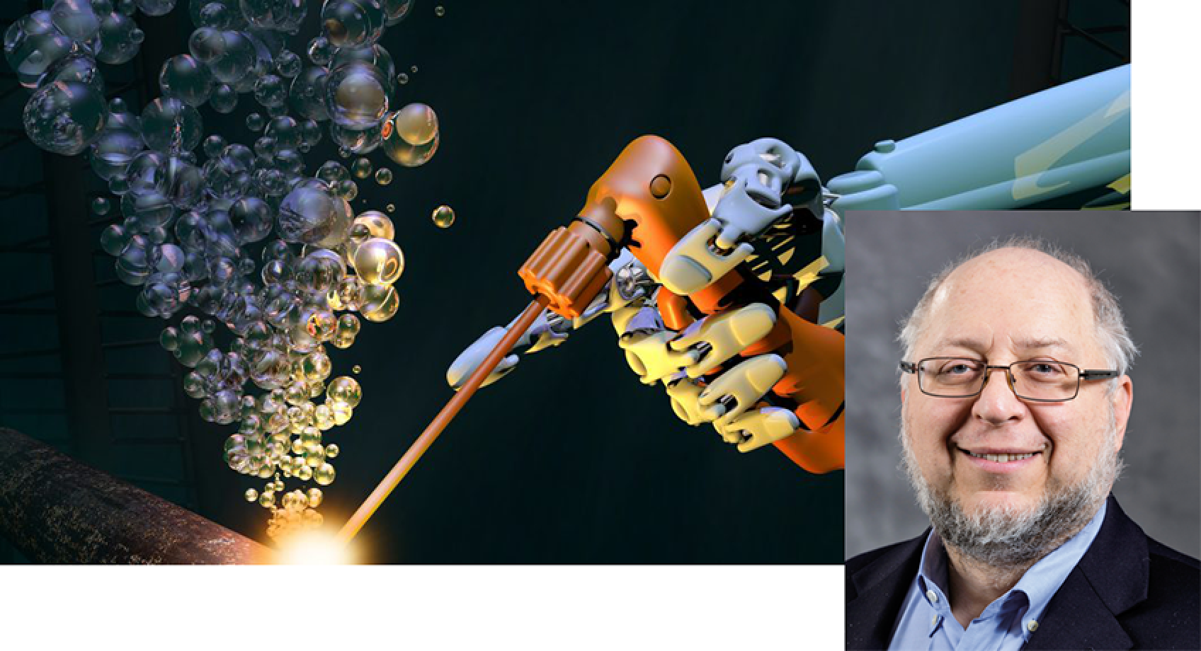 Professor Howard Chizeck profiled by Robotics Business Review Banner