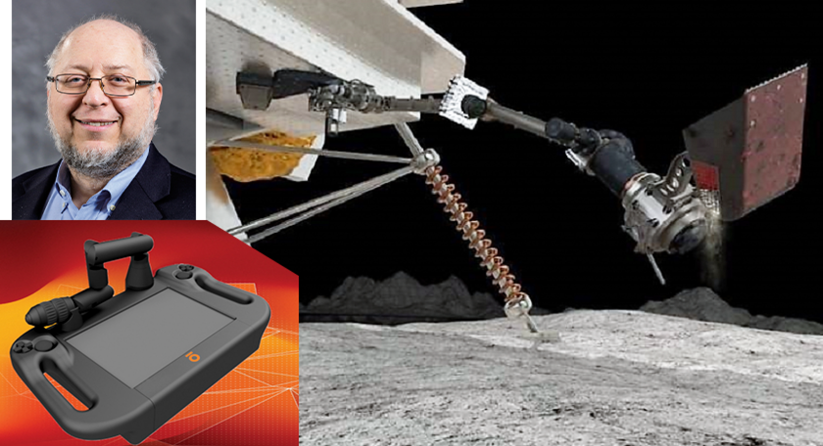 Professor Howard Chizeck's company Olis Robotics chosen to run software for lunar missions Banner