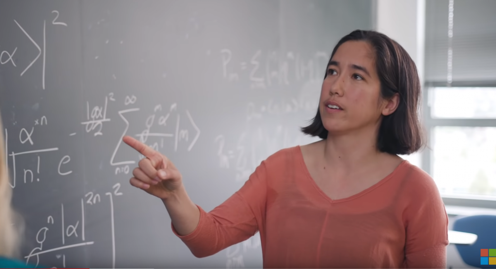 ECE professor Kai-Mei Fu and graduate student Srivatsa Chakravarthi featured in latest episode of Microsoft's Quantum Impact series Banner