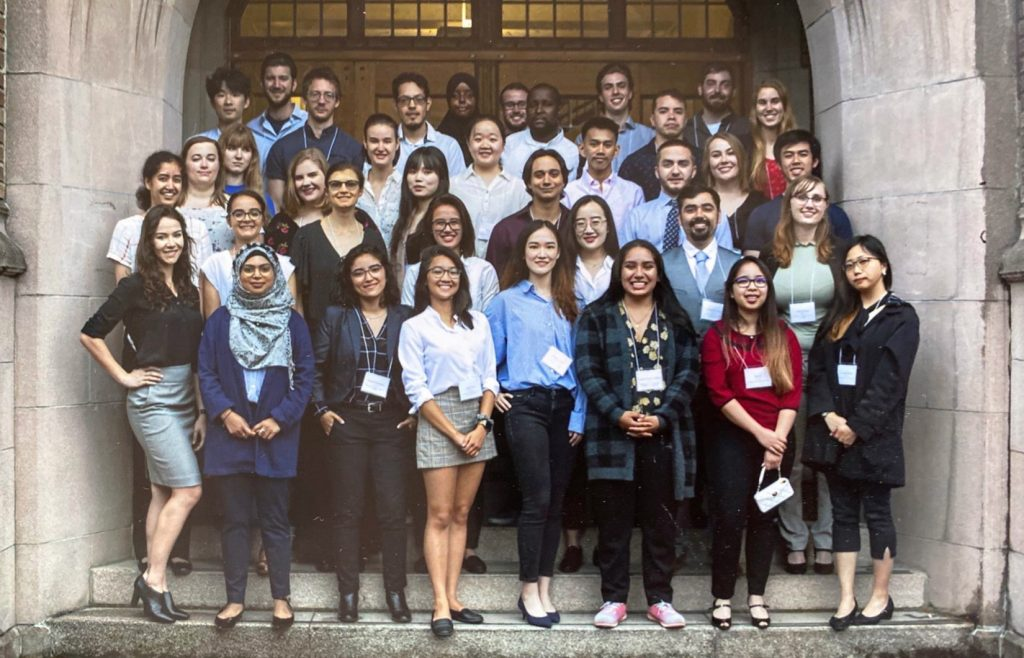 Group photo of the 2019 Summer Undergraduate Research Scholar
