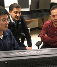 UW ECE grad student Li Chen writes algorithm to depict cardiovascular risk using knee MRIs and AI
