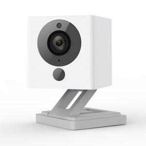 close-up photo of a Wyze camera