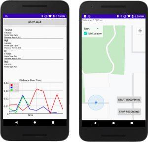 PathMapper app screenshot