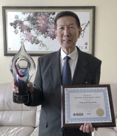 "Pioneering Safety: UW ECE alum Chung-Kwang ""C-K."" Chou receives IEEE Standards Association Lifetime Achievement Award Thumbnail"