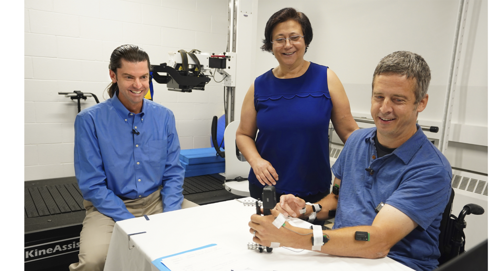 New treatment allows some people with spinal cord injury to regain hand and arm function Banner