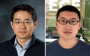 Mo Li and Changming Wu headshots